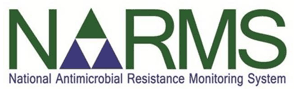National Antimicrobial Resistance Monitoring System logo