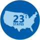 As of 2016, 29 states encouraged enhanced nutrition standards