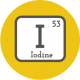 Iodine is added to more of the prenatal vitamins marketed to pregnant and breastfeeding women.