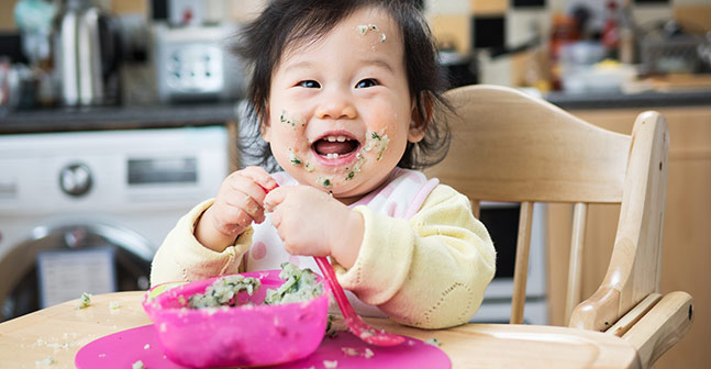 Infant and Toddler Nutrition: Read about feeding practices for infants and toddlers from birth to 24 months of age.