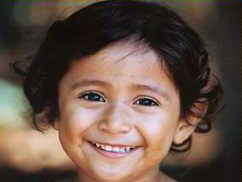 Photo of smiling young girl