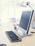 photo of desktop computer
