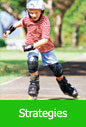 Image of a kid in inline skates