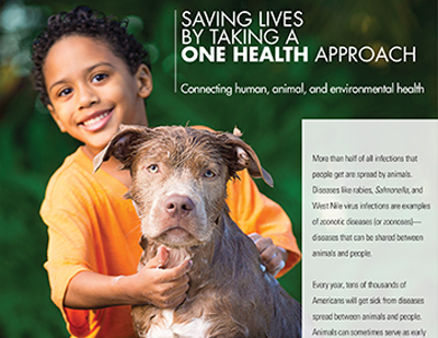 Cover of the One Health Fact Sheet