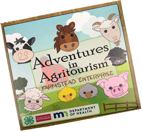 Cover art for Adventures in Agritourism