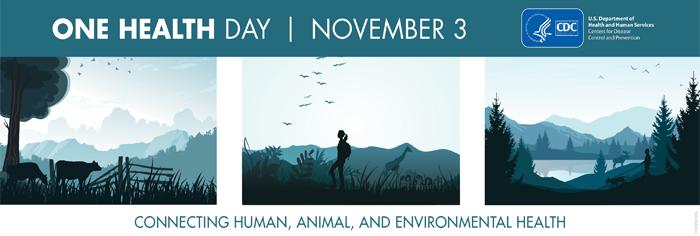 One Health Day November 3 Banner