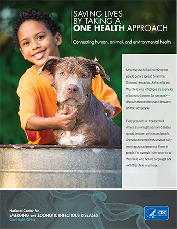 Cover for the One Health Fact Sheet