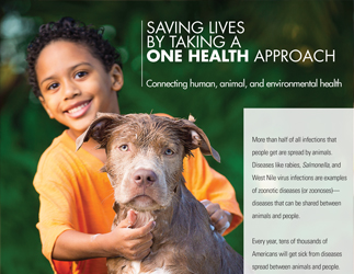 Cover for One Health Fact Sheet