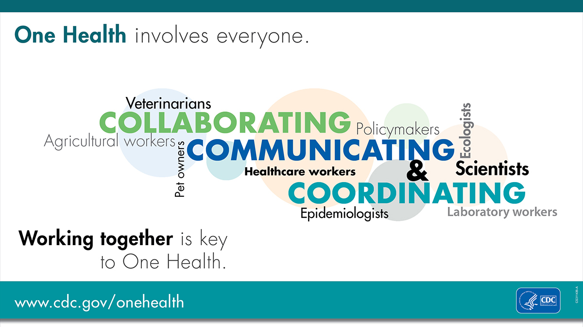 One Health Involves Everyone for twitter and facebook