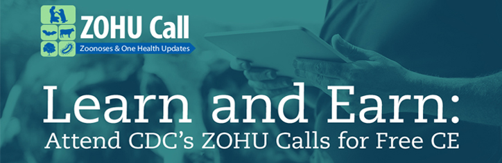 Informational banner for ZOHU Calls at CDC