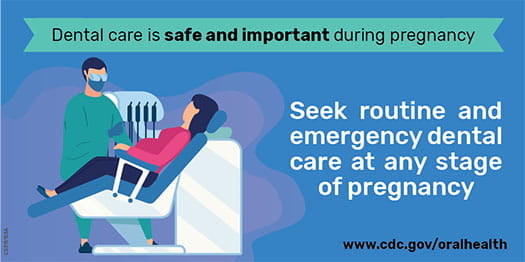 Dental care is safe and important during pregnancy