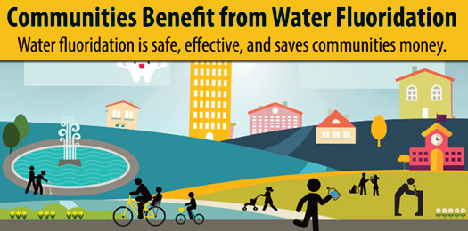 Communities Benefit from Water Fluoridation