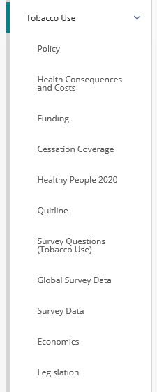 Explore tobacco use topics in OSHData
