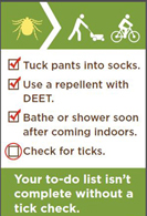 Your to-do list isn't complete without a tick check.