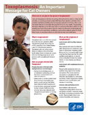 Toxoplasmosis: An Important Message for Cat Owners