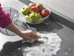 Wash counter tops carefully. Photo courtesy of USDA.
