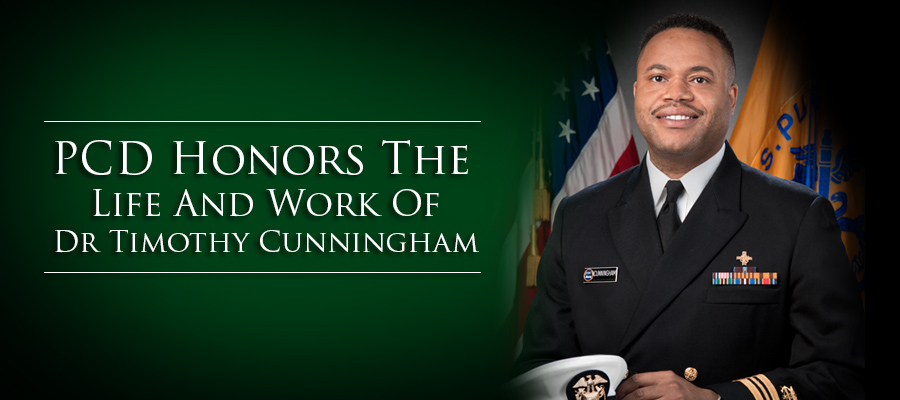 PCD Honors The Life And Work Of Dr. Timothy Cunningham