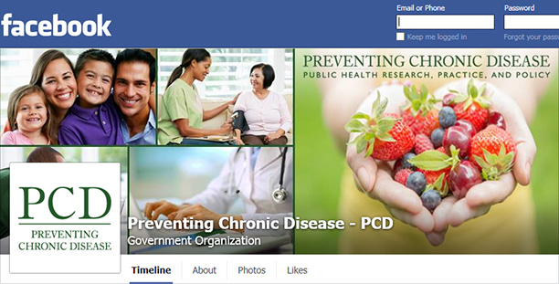 Screenshot of PCD's Facebook page