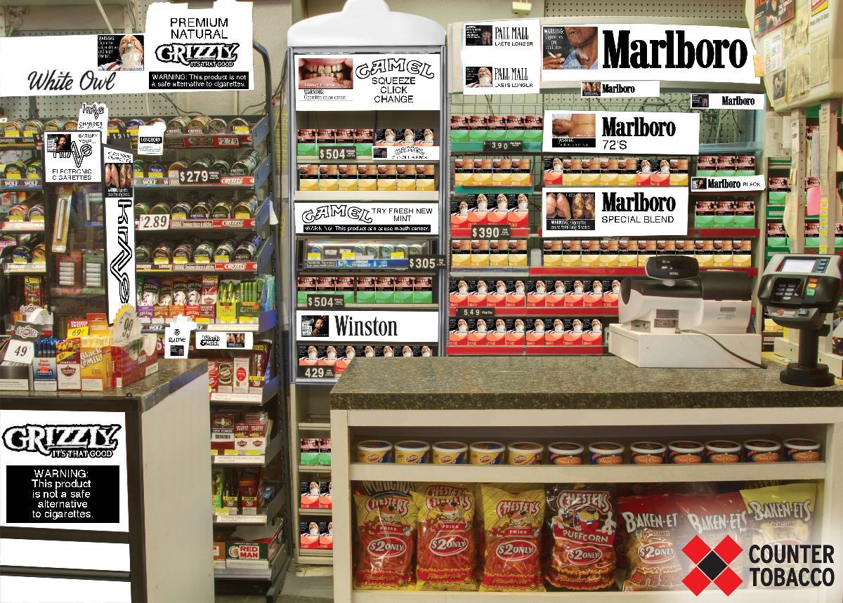 Cigarette promotions