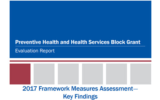 2017 PHHS Block Grant Evaluation Report Cover