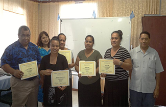 Photo: Each year, Kosrae invests in training its public health workforce to meet the rising demand for quality diabetes care.