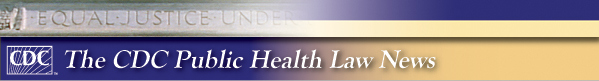 Public Health Law News banner
