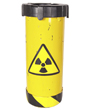 Picture of a radioactive canister