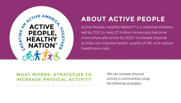 About Active People, Healthy Nation fact sheet