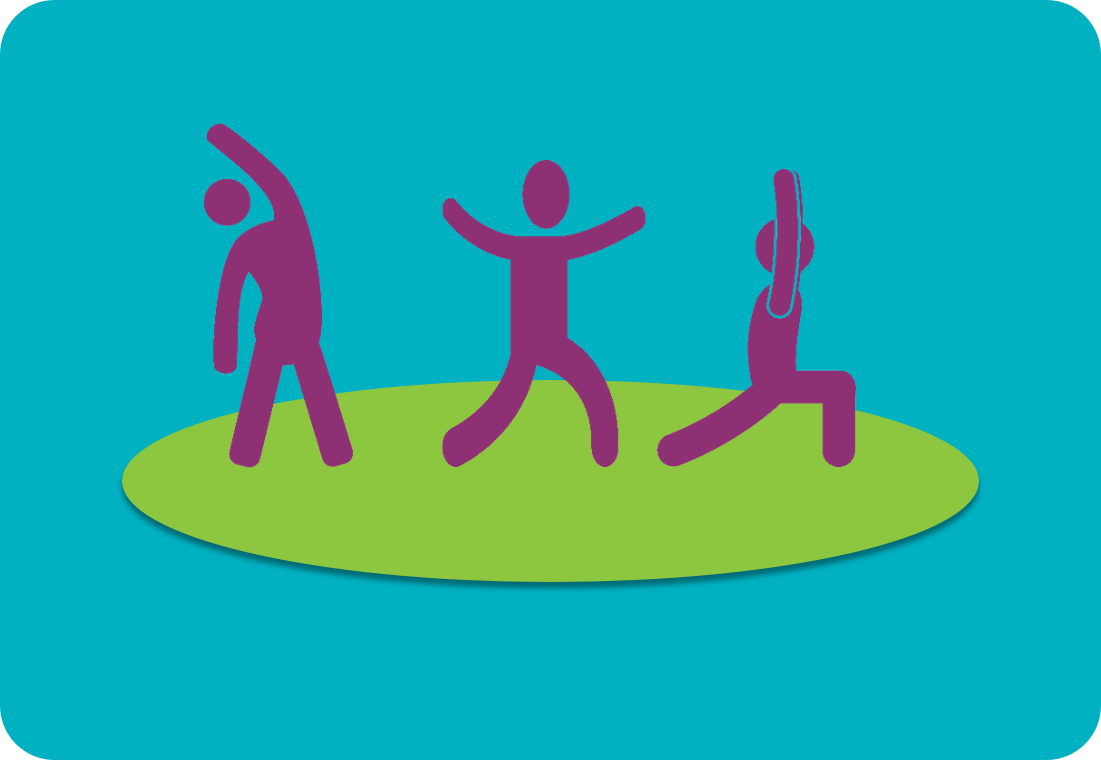 Icon: People stretching