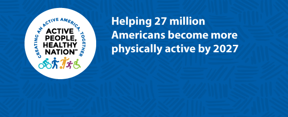 Active People, Healthy Nation: Creating an Active America, Together. Active People, Healthy Nation is a national initiative by CDC and its partners. Our goal is to save lives and protect health by helping 25 million Americans become more physically active.