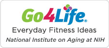 Go4Life, everyday fitness ideas from the National Institute on Aging at NIG