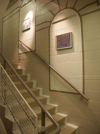 photo of stairwell after improvements