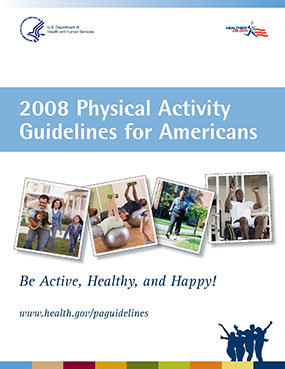 Cover - 2008 Physical Activity Guildelines for Americans.