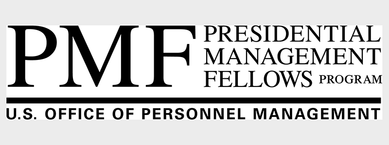PMF - Presidential Management Fellowship Program