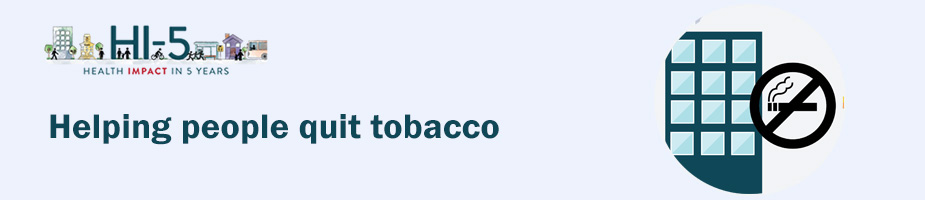 Statewide Tobacco Interventions Banner