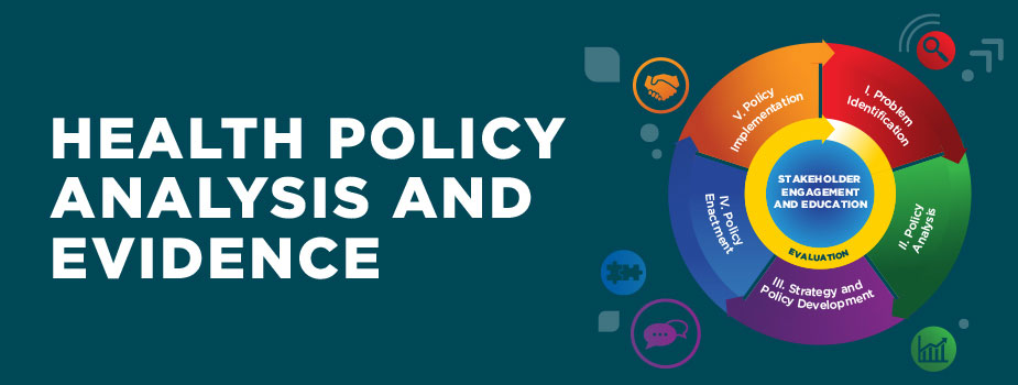 Health Policy Analysis and Evidence Logo