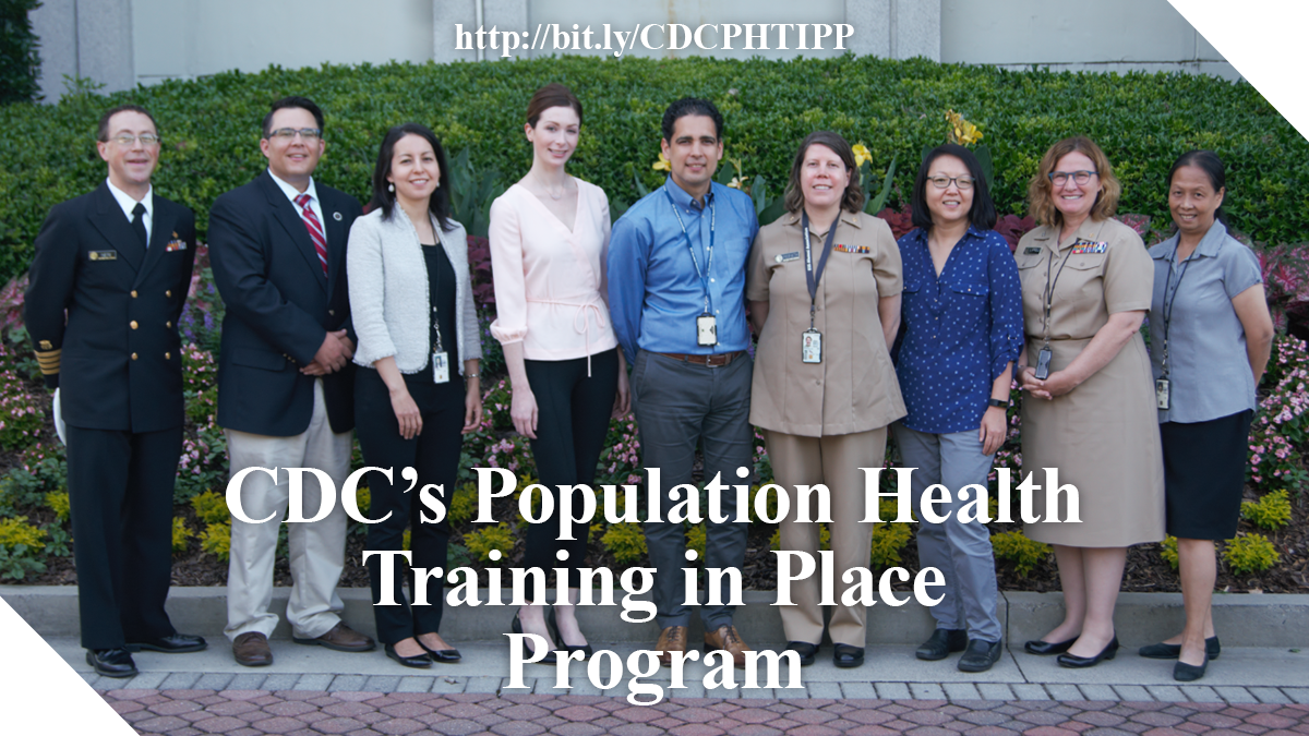 CDC's Population Health Training in Place Program