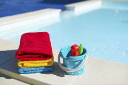 The virus might spread from one person to another if they share a towel or toys.