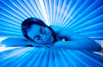 indoor tanning bed