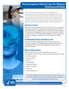Clinical Care for Men Psychosocial Risks Fact Sheet