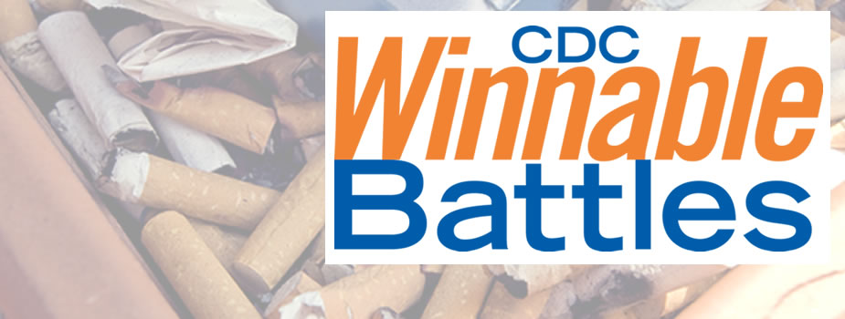 CDC's Winnable Battles