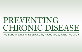 Preventing Chronic Disease (PCD) cover