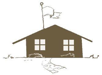Illustration of a rural American schoolhouse