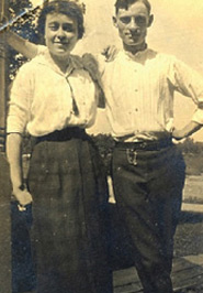Bernice Geller Deady with her husband, Peter Raphael Deady