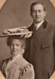Dr. Otto Wernecke and his wife Caroline Kansier