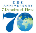 CDC's 70th Anniversary - 7 Decades of Firsts