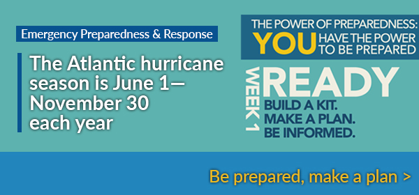 Emergency Preparedness and Response - You have the power to be prepared