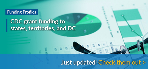 Funding Profiles - CDC grant funding to states, territories, and DC - Just updated! Check them out