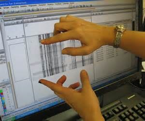 The PulseNet team at CDC compares fingerprint data submitted from across the country