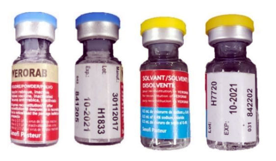 Counterfeit Rabies Vaccine and Rabies Immune Globulin in the Philippines
